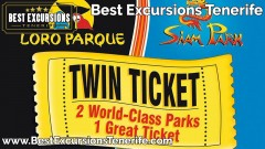 Twin Ticket - Loro Parque + Siam Park
